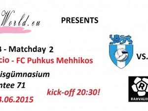 Rahvaliiga: Rumori Calcio vs. FC Puhkus Mehhikos 3-3 (2-3)