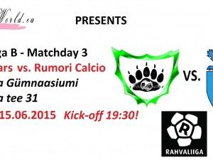 Rahvaliiga: FC IceBears vs. Rumori Calcio 2-5 (0-1)