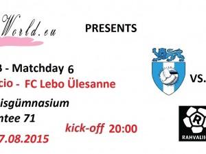 Rahvaliiga: Rumori Calcio vs. FC Lebo Ülesanne 2-5 (2-2)