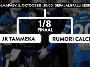Estonian Cup: Rumori Calcio will make history in Tartu!